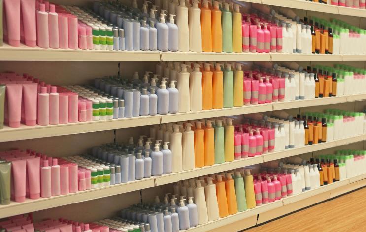 beauty aisle