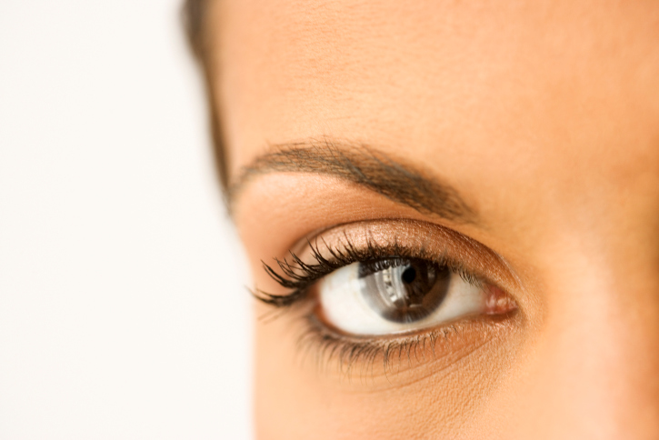 woman's eyebrow