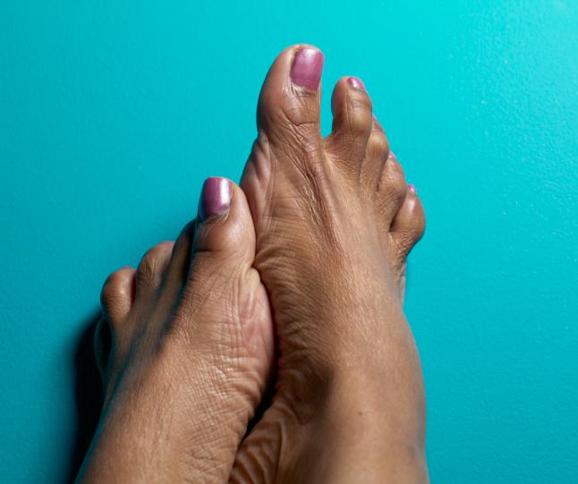 african american feet