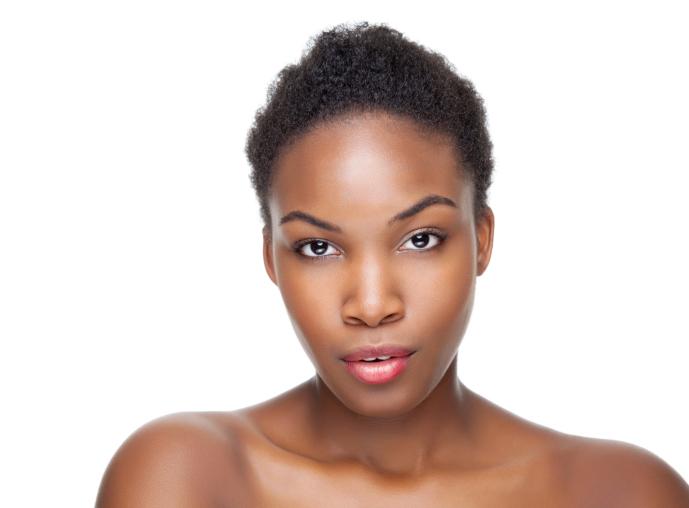 black beauty with beautiful skin