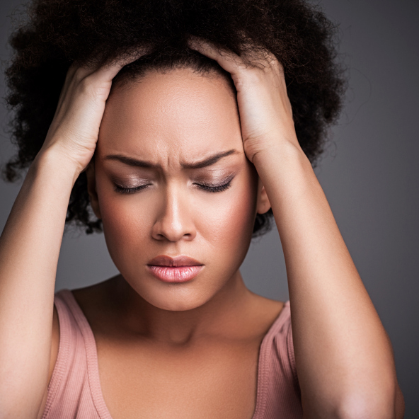 where are migraine headaches usually located