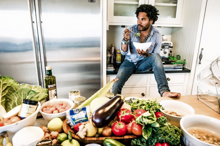 Lenny Kravitz On New Raw Diet | BlackDoctor