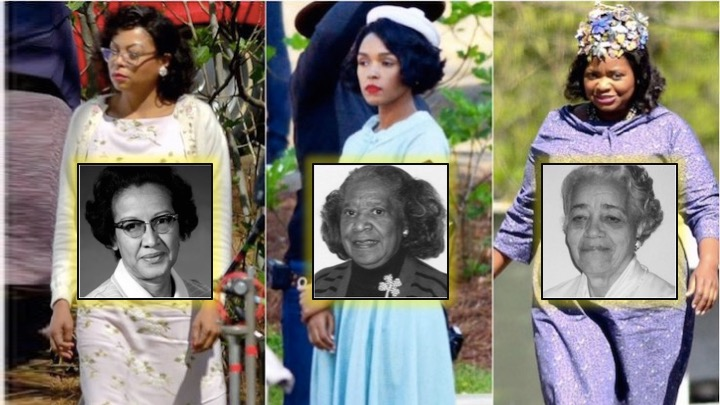 Image result for the real women from Hidden Figures