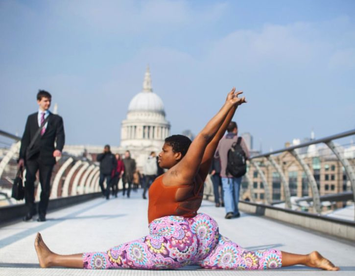 Jessamyn Stanley yoga
