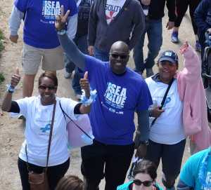 Ken Griffey Sr Sea Blue Walk