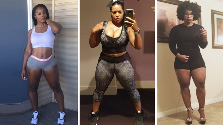 the 200 pound club women who redefine weight blackdoctor. Black Bedroom Furniture Sets. Home Design Ideas