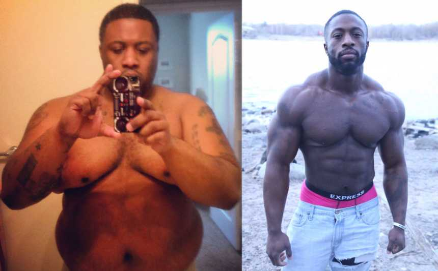 150-Pound Weight Loss: How Meal Prep Transformed His Body