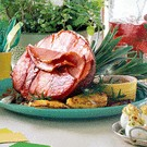 pineapple and rosemary ham