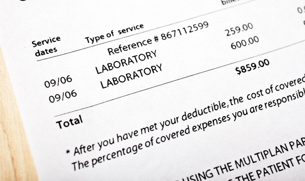 A medical bill