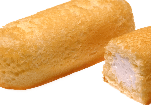 A close-up of Twinkies