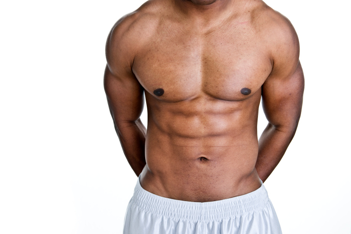 african american male torso
