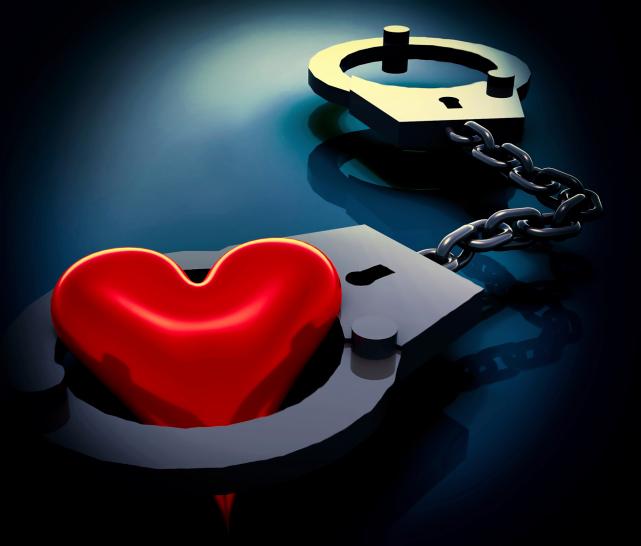 heart in handcuffs
