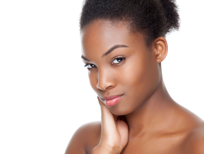 woman face perfect skin