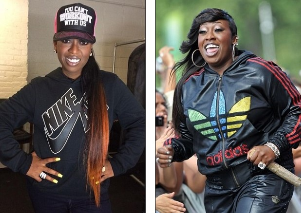 missy elliot before and after