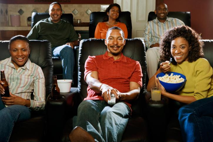 home movie night