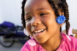 Cute African American Kid