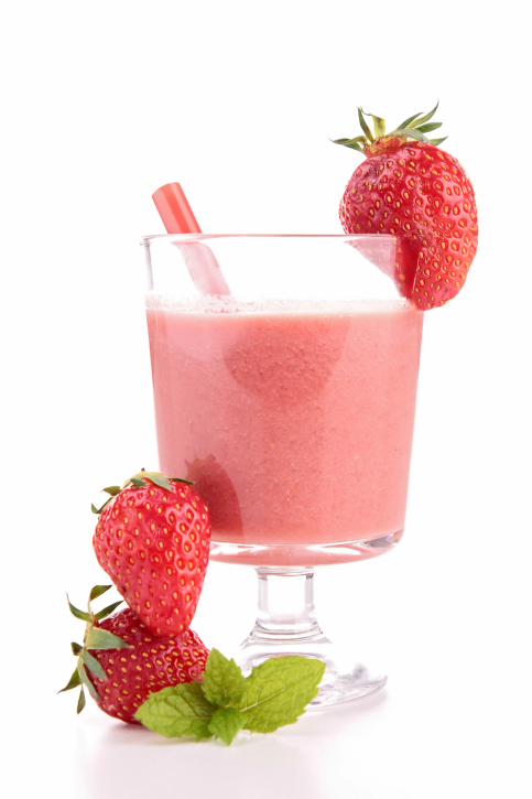 strawberry smoothie