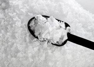 flaked sea salt