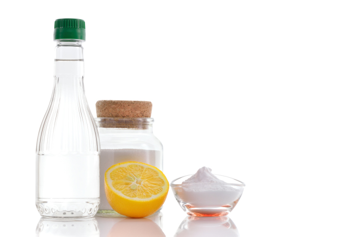lemon and baking soda