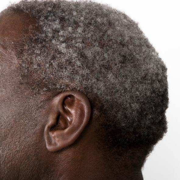Grayhaired Mature Man