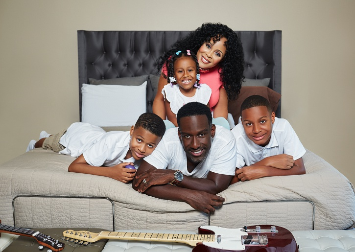 Shawn Stockman family photo