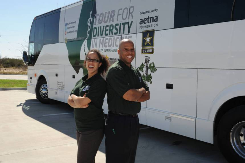 Kameron Matthews and Alden Landry Tour for Diversity co-founders