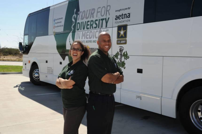 Kameron Matthews and Alden Landry Tour for Diversity co-founders