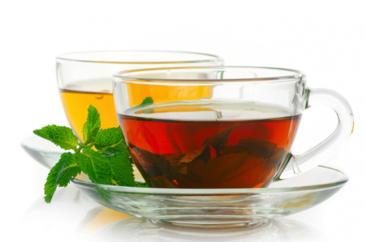 Black and green teas