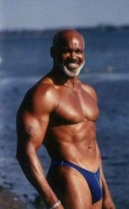 older black man