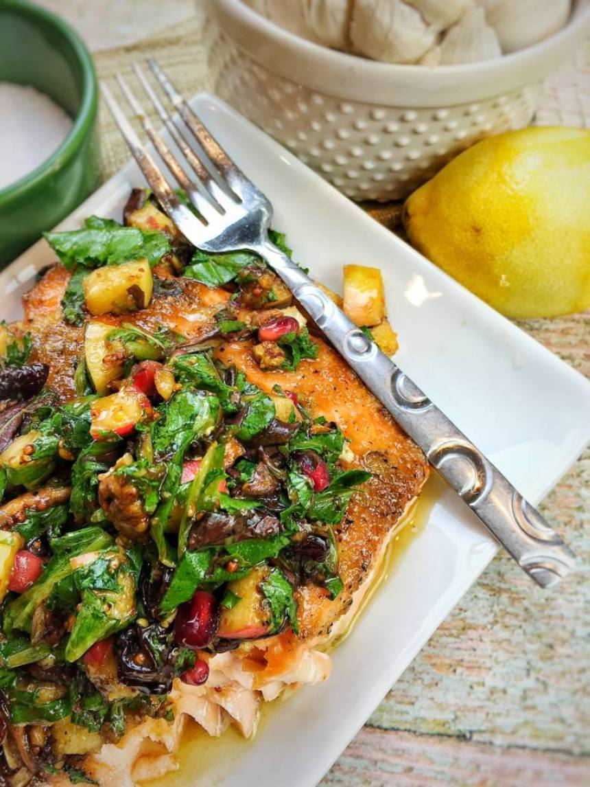 lemon brown sugar salmon