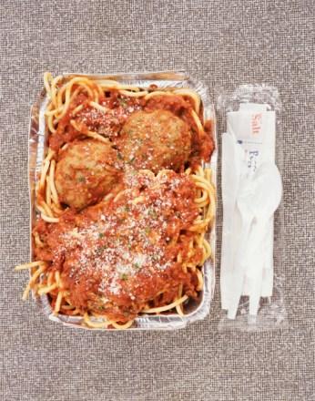 Italian Take Away, Spaghetti and Meatballs