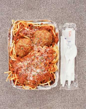 Italian Take Away, Spaghetti and Meatballs