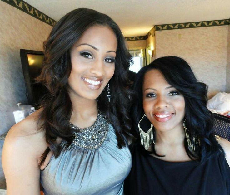 Skylar Diggins with her mother, Renee Scott