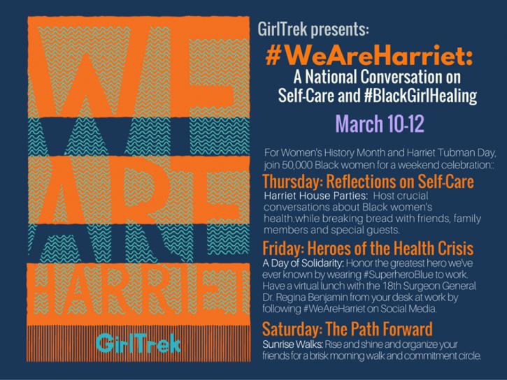 GirlTrek #WeAreHarriet