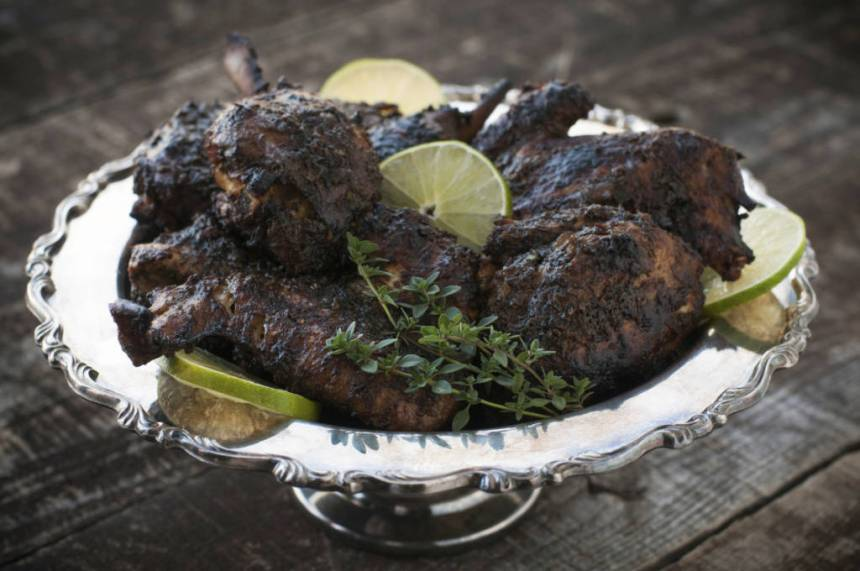 Quick healthy jerk chicken recipes blackdoctor theres something about good jerk chicken that keeps you coming back for more it may be the spices it may be the hint of sweet or it could just be the forumfinder Images