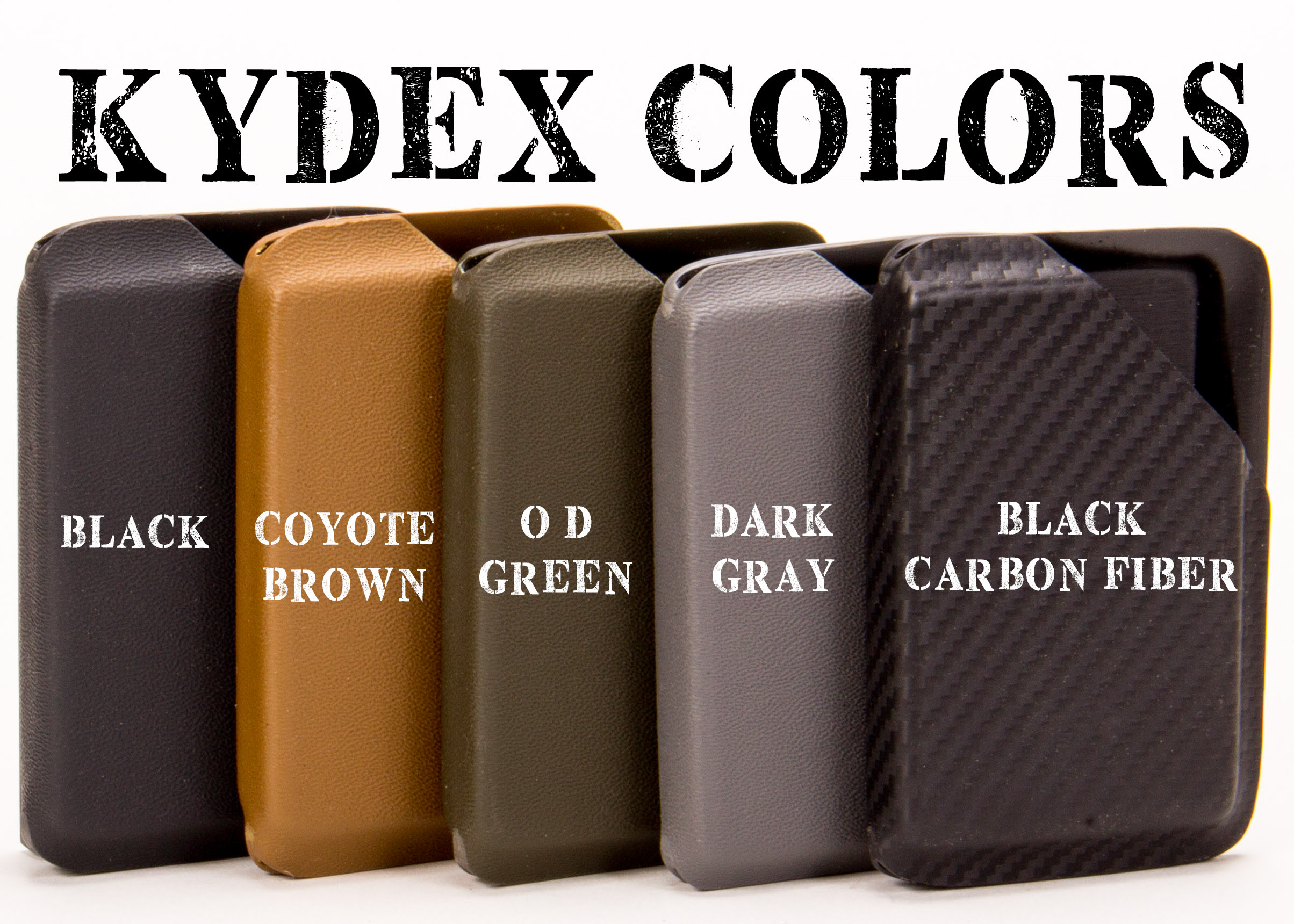 GuardDog Weapon Light Compatible OWB Kydex Holsters