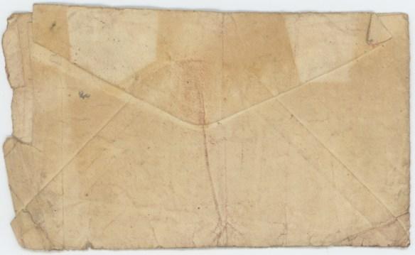 1932-07-02 Ray Shearer envelope back