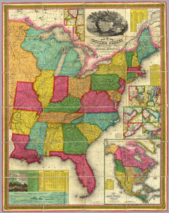 Mitchell map 1831