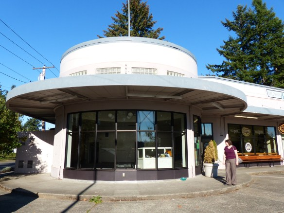 Rounded storefront