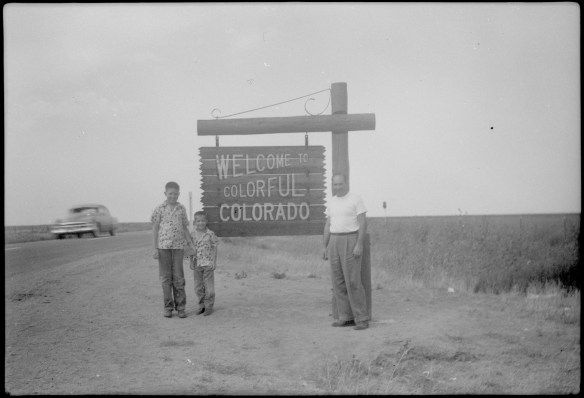 1953?- Entering Colorado