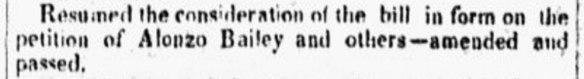 CT Legislature June 4, 1833