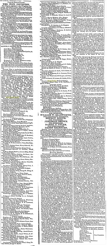 Whig State Convention 1842