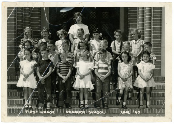 Keith in hist First Grade class photo