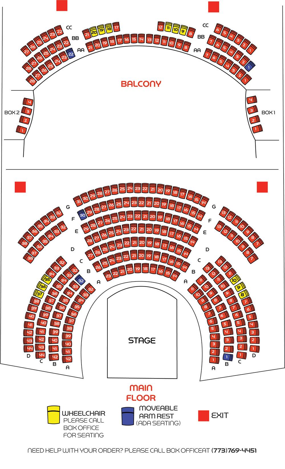 medium resolution of seating chart