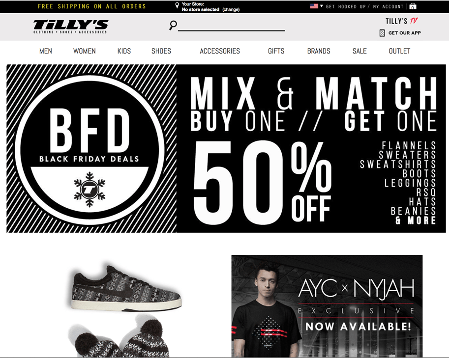 Tillys discount coupons