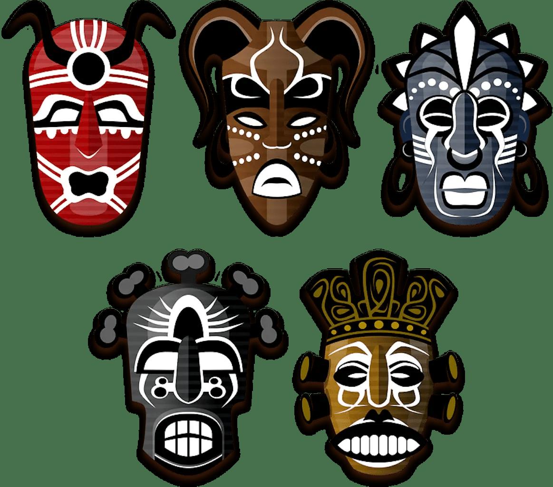 28 Dobe Day 24 African Masks