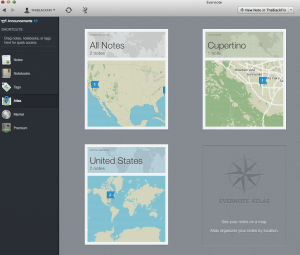 Evernote Atlas
