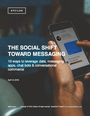 Social Shift Toward Messaging