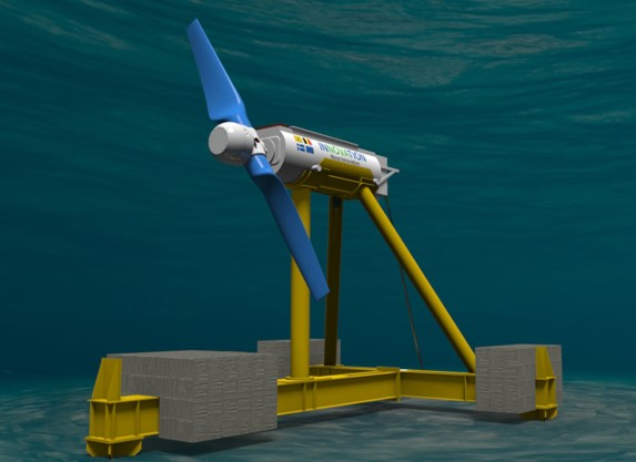 Horizontal Axis Tidal Turbine Nova Innovation