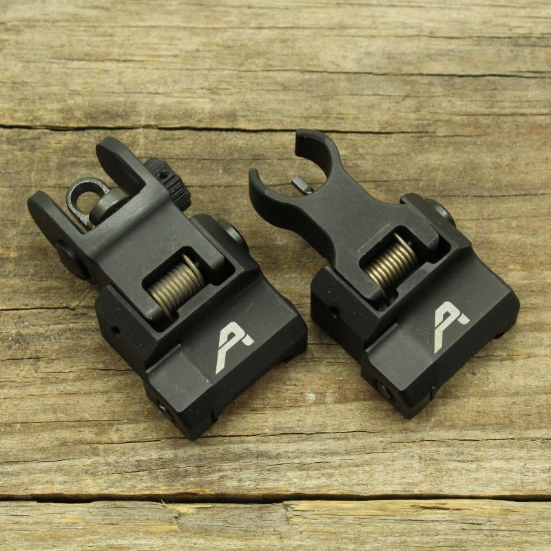 Aero Precision AR15 Flip Up Sight Set_2
